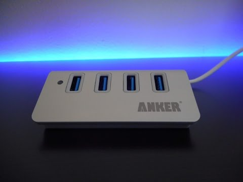Anker USB 3.0 Hub Unboxing and Review