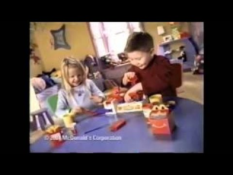 Play Doh McDonald's Happy Meal Playshop Ad (2001)