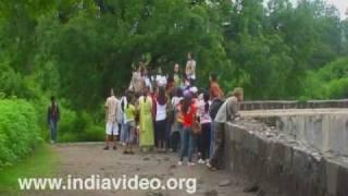 Pond inside the Daulatabad Fort, Maharashtra