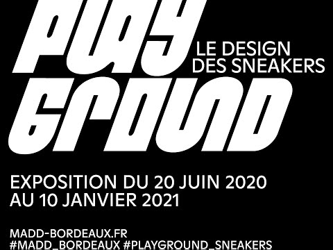 """Playground """"Le design des sneakers"""" - Exposition design Madd"""