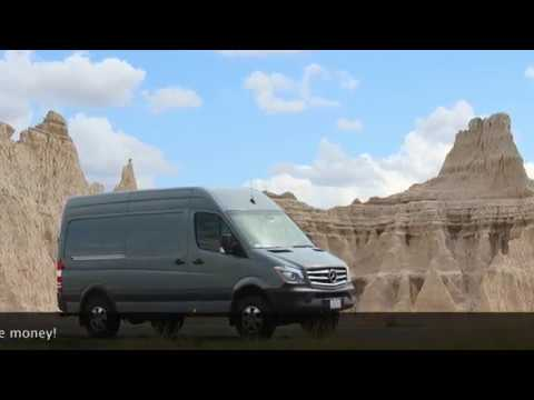 self build camper new Mercedes 4×4 sprinter with bunk beds and rear bathroom