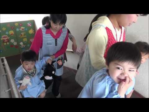 笠間 友部 ともべ幼稚園 子育て情報「新入児歓迎会 会場へ」