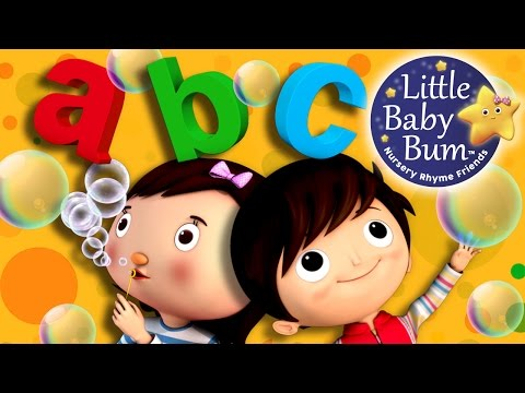 ABC Song | Bubbles Song | Nursery Rhymes | Original Song by LittleBabyBum!