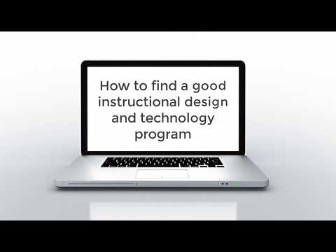 How to find a good instructional design or instructional technology ...