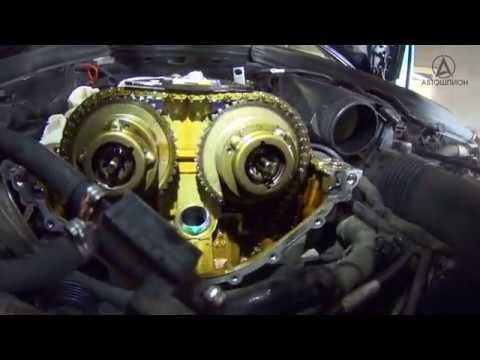 Фото к видео: На пальцах о проблемах цепей ГРМ M271 Mercedes Benz W204 W203