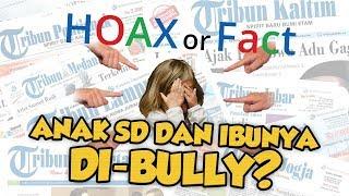 Hoax or Fact: Anak SD dan Ibunya Menangis karena Dibully Masalah Ekonomi?