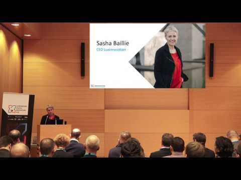 L-DIH Talk #1 – Sasha Baillie (CEO, Luxinnovation)