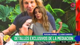 Mariana Nannis Exige Que Claudio Caniggia La Mantenga