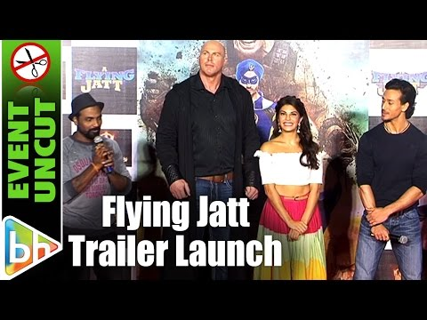 A Flying Jatt OFFICIAL Trailer Launch | Tiger Shroff | Jacqueline Fernandez | Nathan Jones