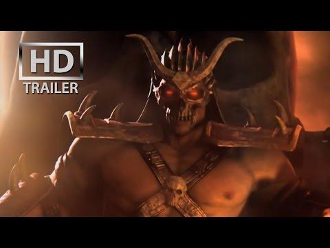 Mortal Kombat 9 - Kratos | story trailer [HD] OFFICIAL Trailer MK9 (2011)
