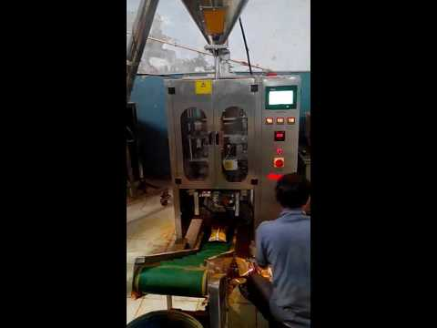 Collar Type Pouch Packing Machine for Masala, Spices, Besan Maida Upto 1 Kg.
