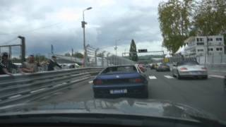 preview picture of video 'Nissan 370 Z circuit de Pau Grand prix historique 2012'