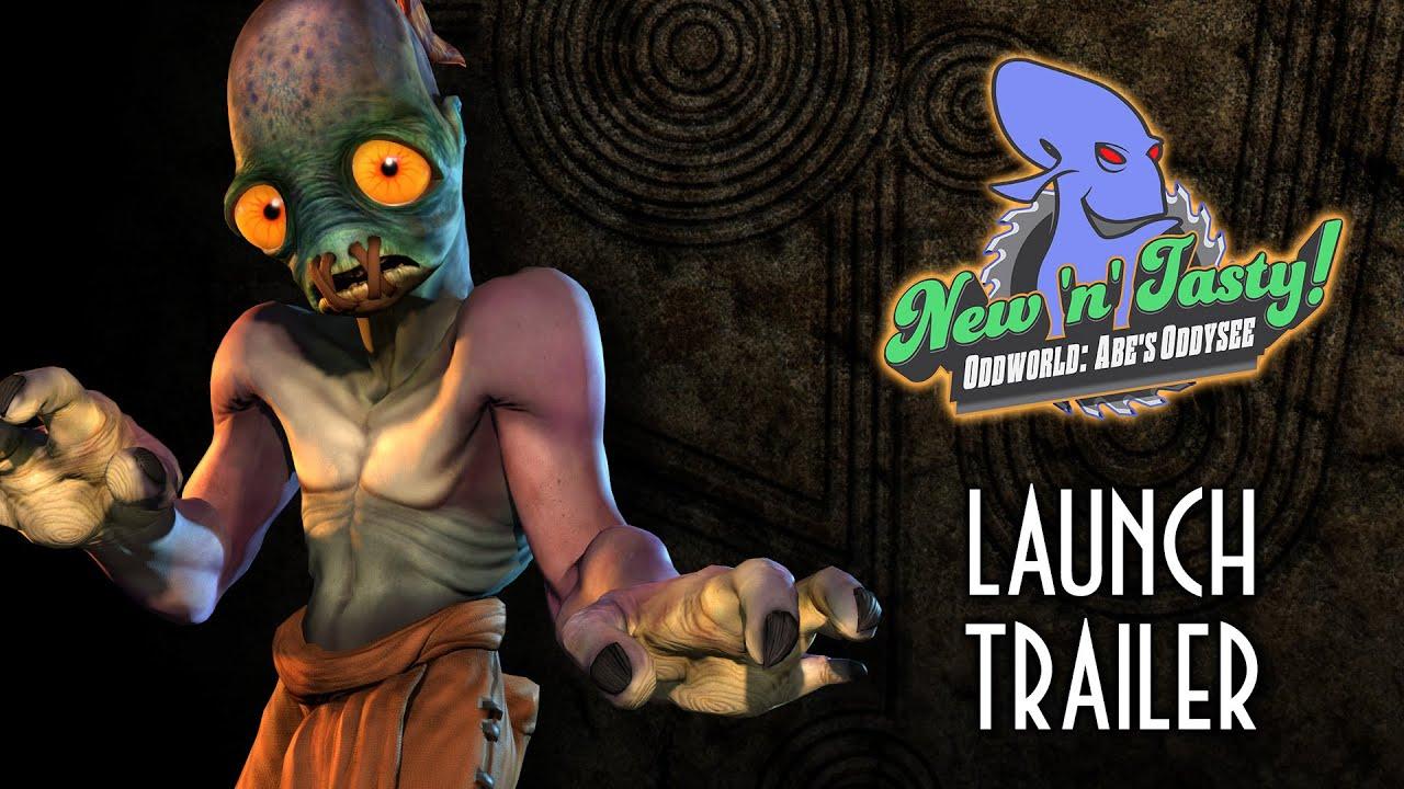Oddworld: New 'n' Tasty sera disponible le 23 juillet, découvrez le dernier trailer du jeu