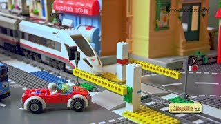 Lego City High Speed Passenger Train Story 60051 | Lego train | Parents | Kindergarten | Kiddiestv