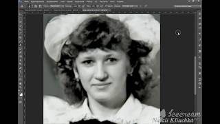 Как восстановить старое фото в фотошоп. Реставрация старой фотографии в фотошопе. Уроки фотошоп.