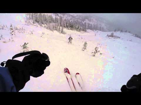 Paradise backcountry ski stoke 1 run