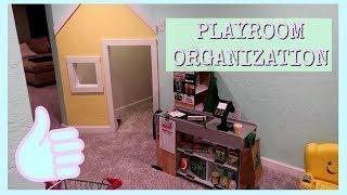 KIDS PLAYROOM TOUR AND ORGANIZATION