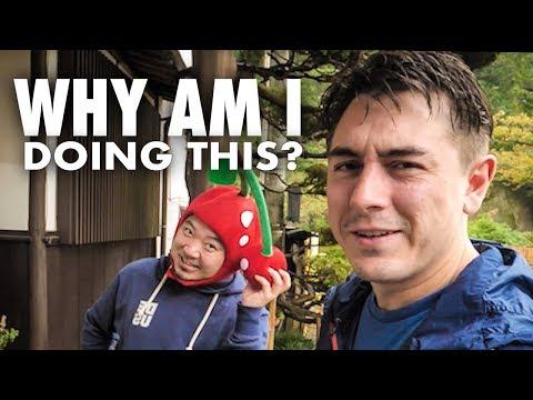 Proč jedu na kole Japonskem – den druhý