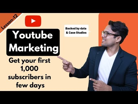 Lesson-11: Youtube Marketing explained in 13 minutes (Backed by data)   Ankur Aggarwal