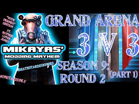 Grand Arena Gameplay - 3v3 Championship Round - Bulldog1205 - Video