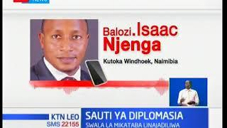 KTN Leo: Sauti ya diplomasia kuhusu malalamishi ya baadhi ya wauguzi wa Kenya