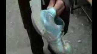 çamurluklu ayakkabı