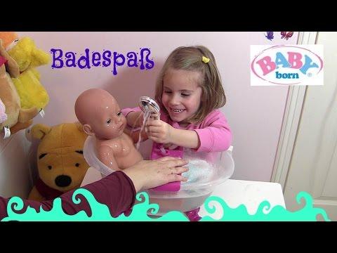 BABY born Badewanne ♥ Fee Wonderland Puppe geht baden | Zapf Creation