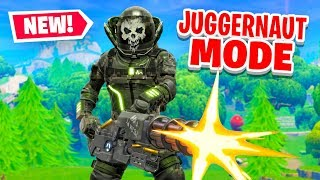 *NEW* JUGGERNAUT MODE in Fortnite Battle Royale