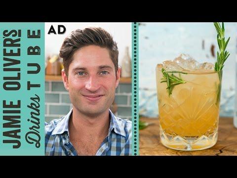 Video Fireside Grapefruit & Rosemary Vodka Cocktail | Joe McCanta