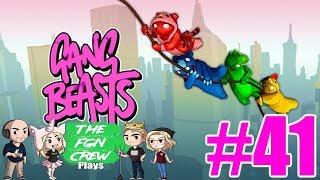 RANGER RICK | GANG BEASTS GAMEPLAY #41