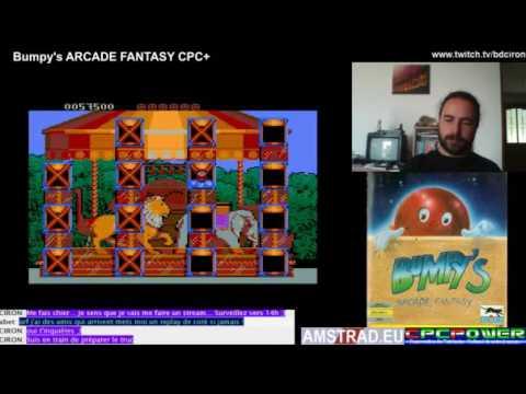Bumpy's Arcade Fantasy (CPC+) / Target Renegade