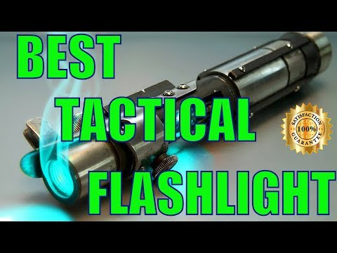 Best Tactical Flashlight – Brightest Tactical Flashlights Review 2017