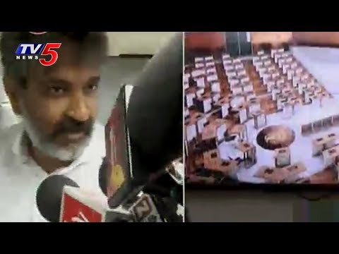 SS Rajamouli Speaks to Media Over His Meeting with Chandrababu on Amaravathi Designs