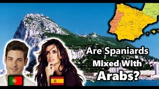 Do Modern Spanish and Portuguese People have North African or Arab Blood?