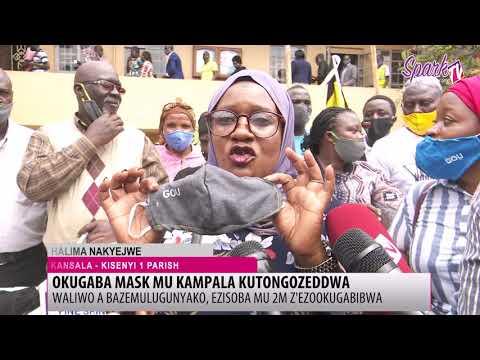 Ab'e Kampala nabo batandise okufuna masiki okwetangira COVID-19