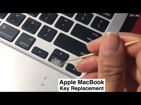 How to Replace or Clean Apple MacBook Pro/Air Keyboard Keys