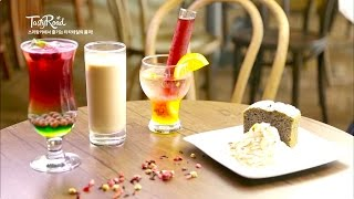 [TastyRoad]紅茶カクテルが楽しめる「BASILUR」[日本語字幕]