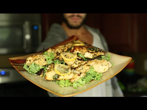 Video Healthy Meal Prep Options: Lemon Pepper Chicken