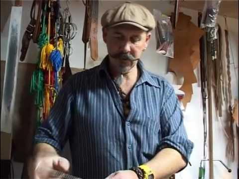 Die Lederwerkstatt Hünxe _ Einblicke in die Werkstatt_Handgemachter Ledergürtel