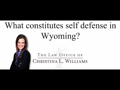 What constitutes self def…