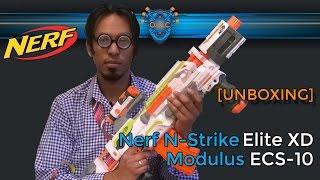 Nerf Modulus ECS-10 [UNBOXING] (deutsch/german)