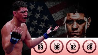 Nick Diaz Is The BEST Boxer In EA UFC 3!