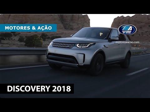 Novo Land Rover Discovery 2018 | motoreseacao