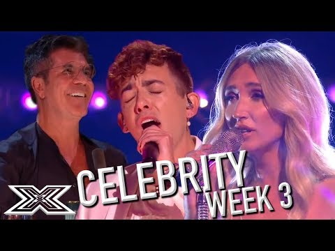 GLEE Star, KEVIN MCHALE And MEGAN MCKENNA Live Performances - The X Factor: Celebrity Live Shows