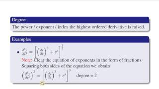 Absolute Beginner Differential Equations Tutorial - lesson 1 - Basic Concept