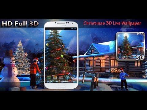Vídeo do Christmas 3D Live Wallpaper