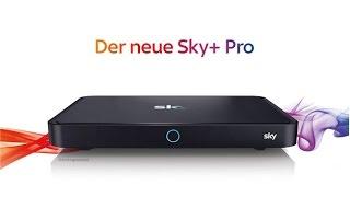 Vorstellung der SKY+ Pro ULTRA HD Satbox