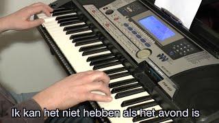 Suzanne & Freek   Als Het Avond Is | KARAOKE + Lyrics