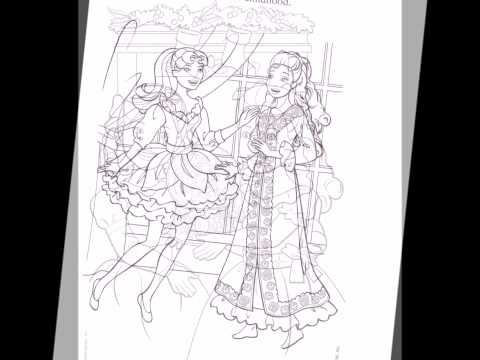 Download Barbie In A Christmas Carol Coloring Pages Movie