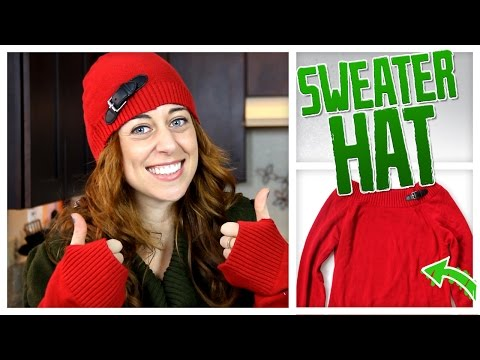 Transform An Old Sweater Into a Hat, Leg Warmers & More! - Do It, Gurl